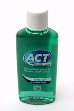 Picture of Act Anti-Cavity Fluoride Rinse Mouthwash 1 oz
