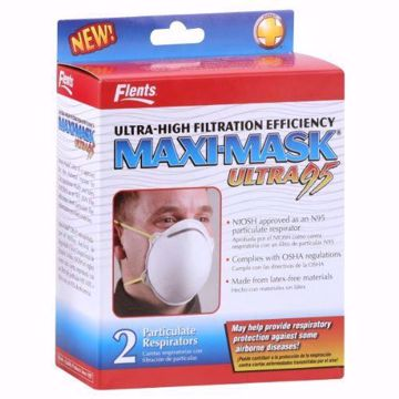 Picture of Flents Maxi-Mask Particulate Respirators, Ultra 95, 2 ct.