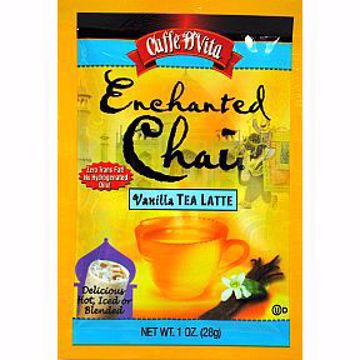 Picture of Caffe D'Vita Enchanted Chai Tea Latte - Vanilla