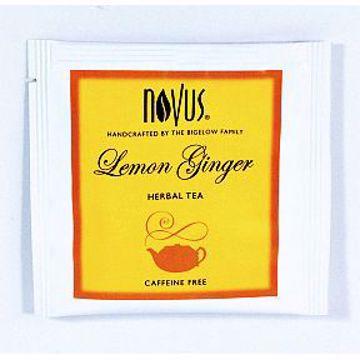 Picture of Novus Lemon Ginger Herbal Tea