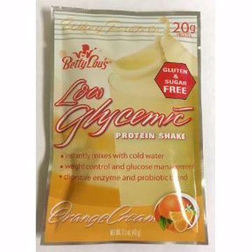 Picture of Betty Lous Low Glycemic Whey Protein Shake - Orange Cream