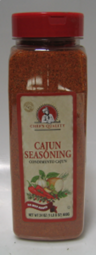 Picture of Chefs Quality - Cajun Seasoning - 24 oz 12/case