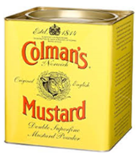 Picture of Colmans - Dry Mustard Powder - 16 oz 12/CASE