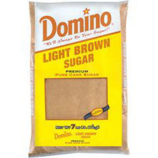 Picture of Domino - Light Brown Sugar - 7 lbs 6/case