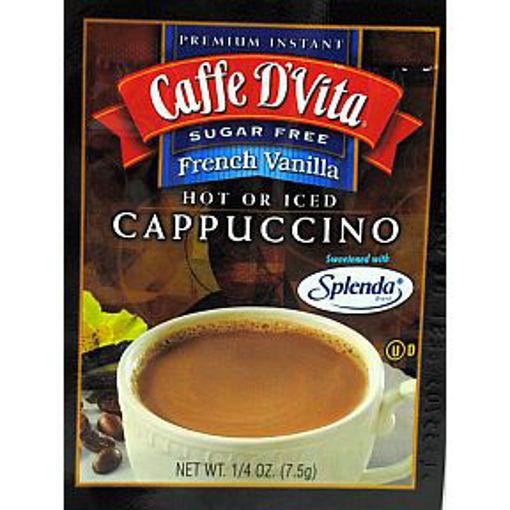 Picture of Caffe D'Vita Cappuccino - Sugar Free French Vanilla (39 Units)
