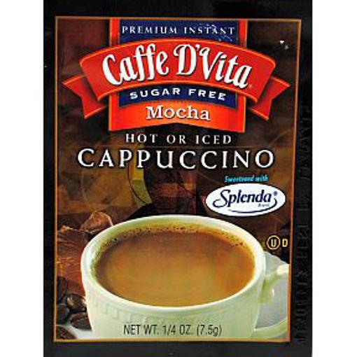 Picture of Caffe D'Vita Cappuccino - Sugar Free Mocha (39 Units)