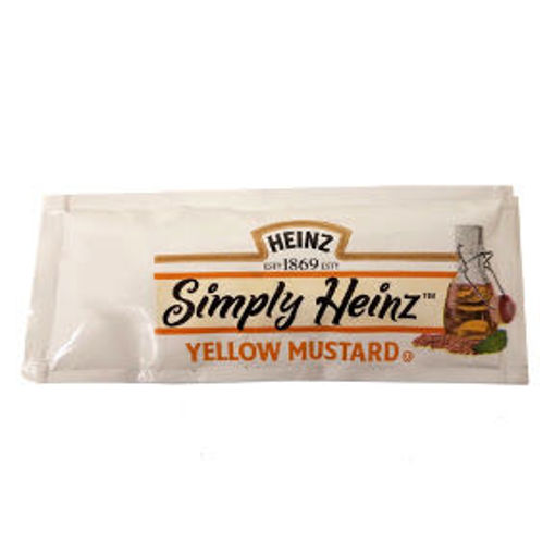 Picture of Heinz Simply Heinz Yellow Mustard (227 Units)