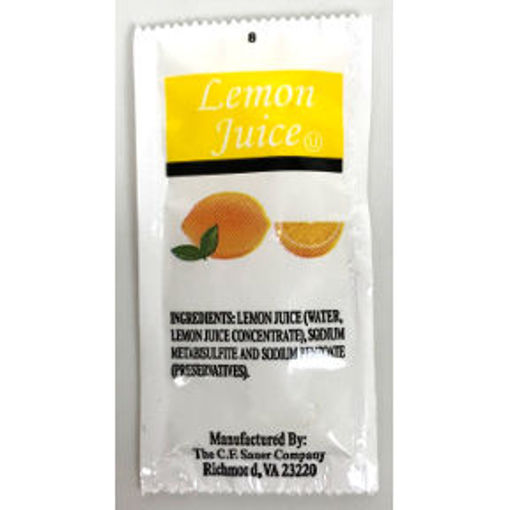 Picture of CF Sauer Lemon Juice Packet (278 Units)