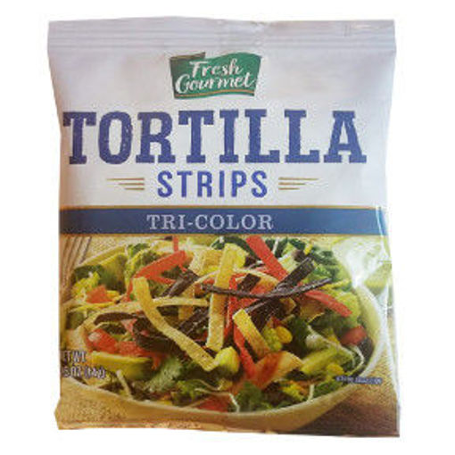 Picture of Fresh Gourmet Tortilla Strips Tri-Color (71 Units)