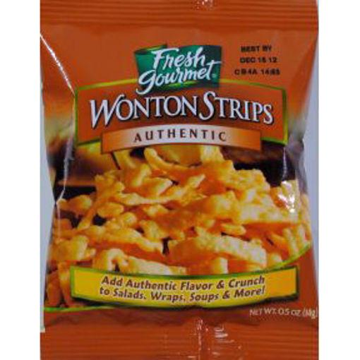Picture of Fresh Gourmet Wonton Strips (60 Units)