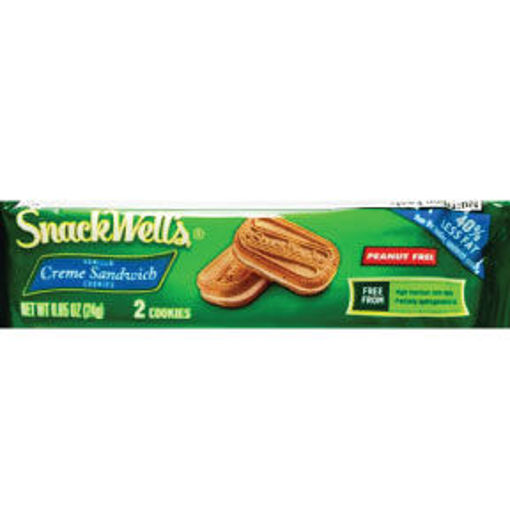 Picture of SnackWells Vanilla Crème Sandwich Cookie 2 pack (38 Units)