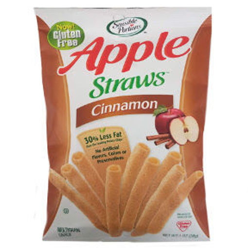 Picture of Sensible Portions Cinnamon Apple Straws (20 Units)