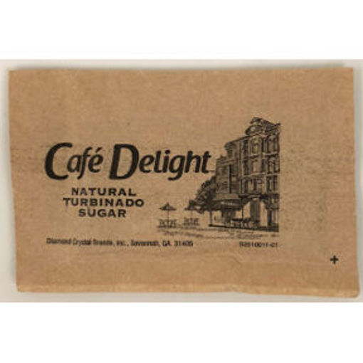 Picture of Café Delight Natural Turbinado Sugar Packet (625 Units)