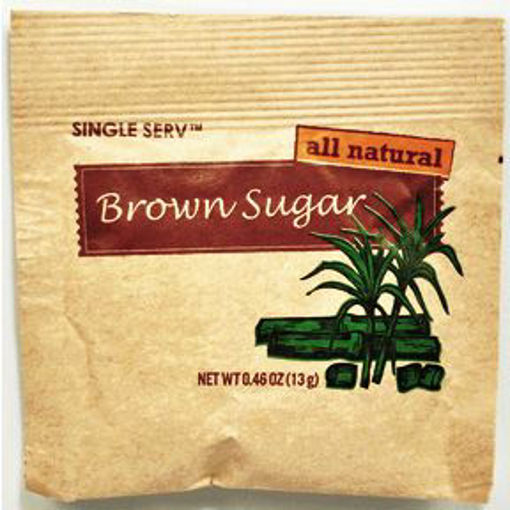 Picture of Diamond Crystal All Natural Brown Sugar Packet (60 Units)