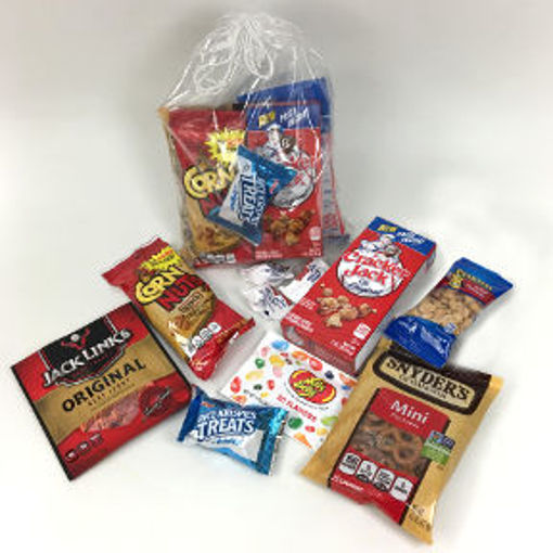 Picture of Take Me Out To The Ball Game Snack Pack (3 Units)