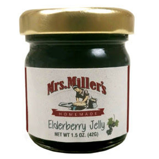 Picture of Mrs. Miller's Homemade Elderberry Jelly (14 Units)