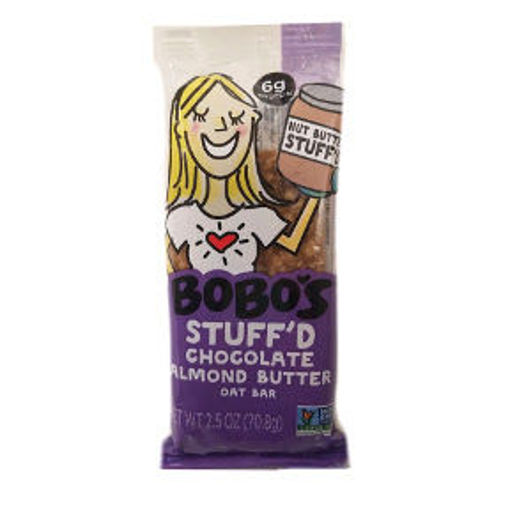 Picture of Bobo's Stuff'd Chocolate Almond Butter Oat Bar (8 Units)