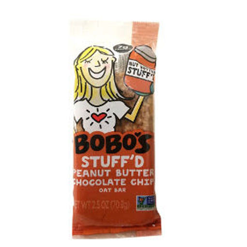 Picture of Bobo's Stuff'd Peanut Butter Chocolate Chip Oat Bar (8 Units)