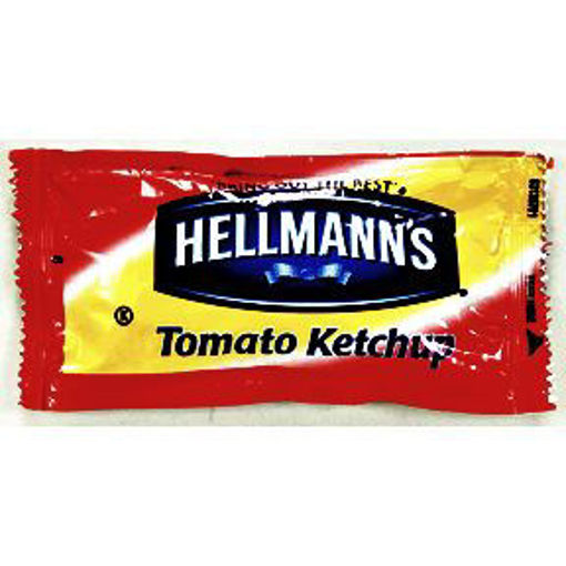 Picture of Hellmann's Tomato Ketchup Packet (250 Units)