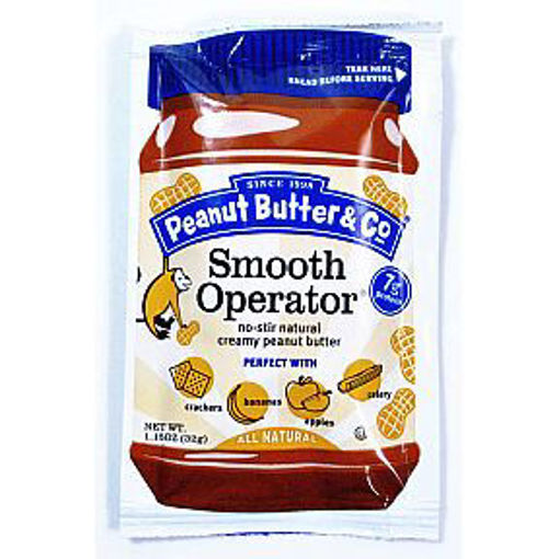 Picture of Peanut Butter & Co Smooth Operator Squeeze Pack (1.15 oz) (33 Units)