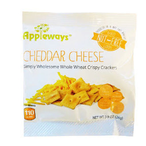 Picture of Appleways Cheddar Cheese Crispy Cracker (42 Units)