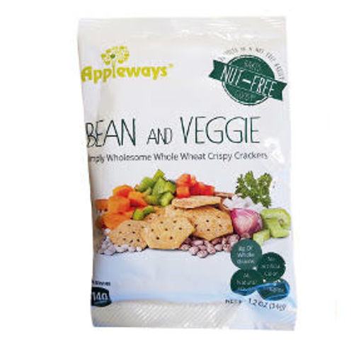 Picture of Appleways Bean & Veggie Cracker (38 Units)