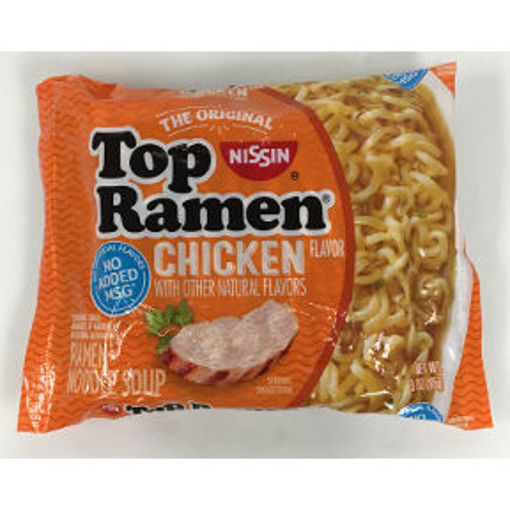 Picture of Nissin Top Ramen Chicken Flavor (42 Units)
