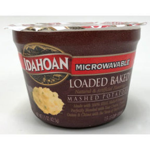 Picture of Idahoan Microwavable Loaded Baked Mashed Potato Cup (11 Units)