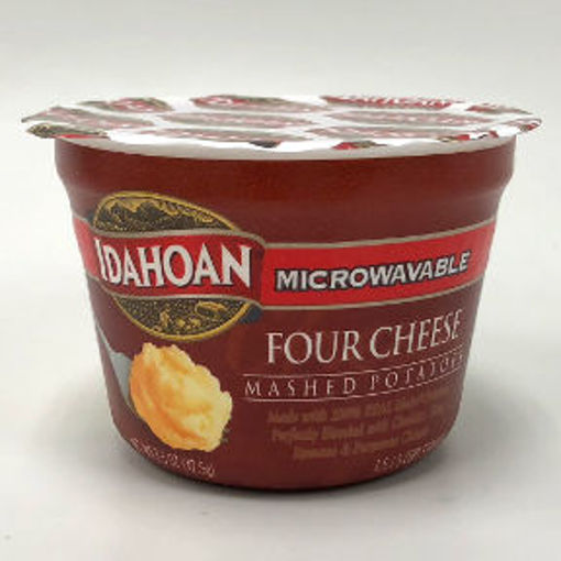 Picture of Idahoan Microwavable Four Cheese Mashed Potato Cup (11 Units)