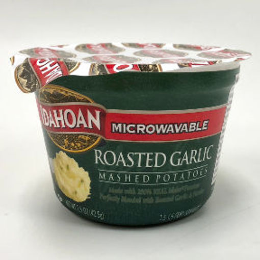 Picture of Idahoan Microwavable Roasted Garlic Mashed Potato Cup (11 Units)