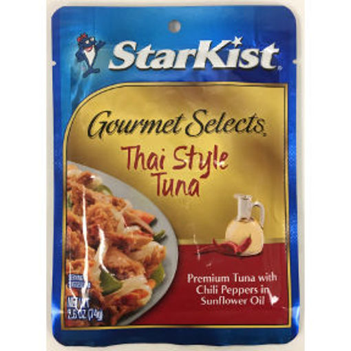 Picture of Starkist Gourmet Selects Thai Style Tuna (10 Units)