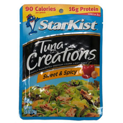 Picture of Starkist Tuna Creations Sweet & Spicy (10 Units)