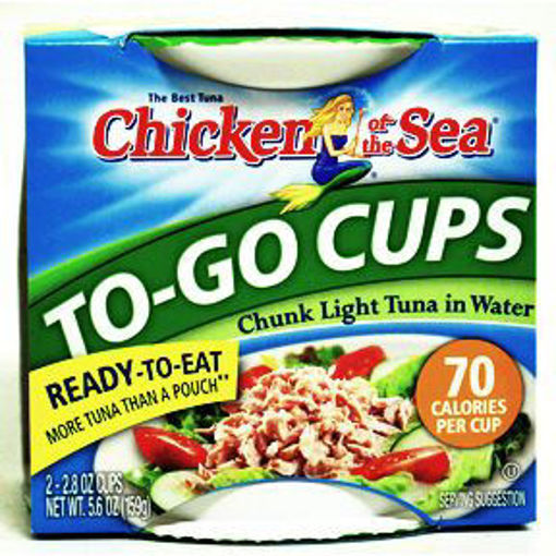 Picture of Chicken of the Sea Chunk Light Tuna Cups (7 Units)