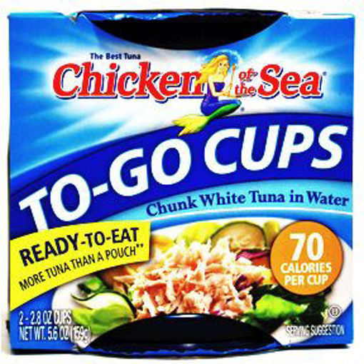 Picture of Chicken of the Sea Chunk White Tuna Cups (5 Units)