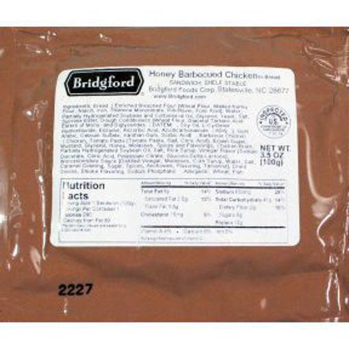 Picture of Bridgford Honey BBQ Chicken Pocket Sandwich (4 Units)