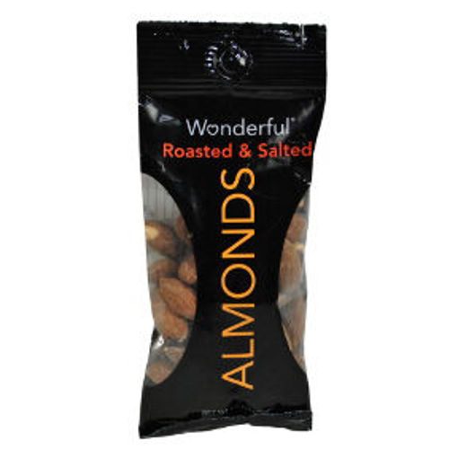 Picture of Wonderful Roasted & Salted Almonds (15 Units)