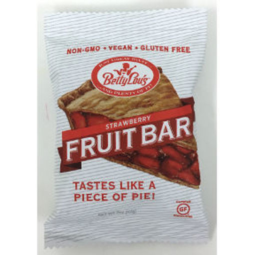 Picture of Betty Lou's Gluten Free Fruit Bars - Strawberry (12 Units)