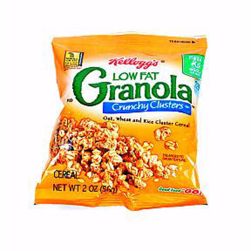 Picture of Kelloggs Low Fat Granola Crunchy Clusters (14 Units)