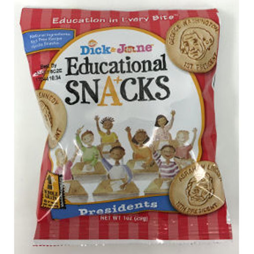 Picture of Dick & Jane Educational Snacks Presidents (51 Units)