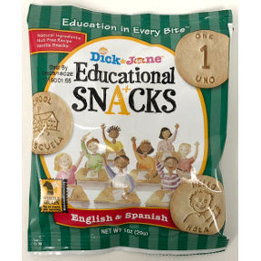Picture of Dick & Jane Educational Snacks English & Spanish (51 Units)