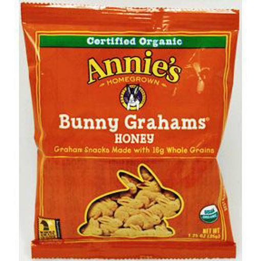 Picture of Annie's Bunny Grahams Honey (28 Units)
