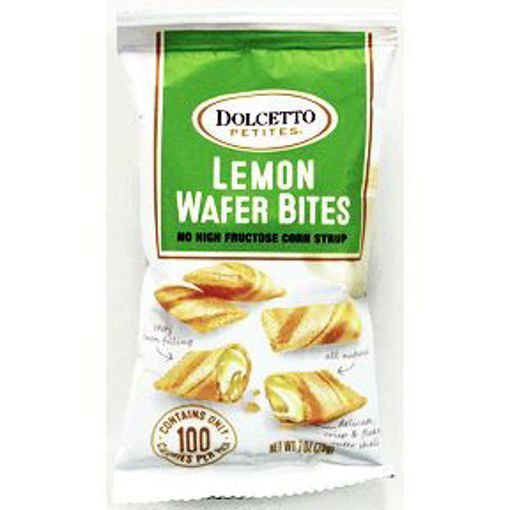 Picture of Dolcetto Petites Lemon Wafer Bites (23 Units)