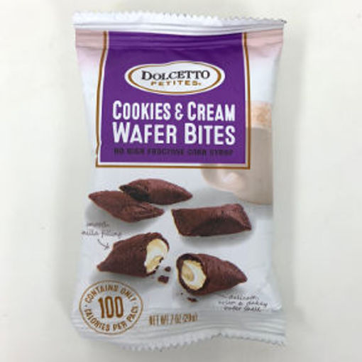Picture of Dolcetto Petites Cookies & Cream Wafer Bites (23 Units)