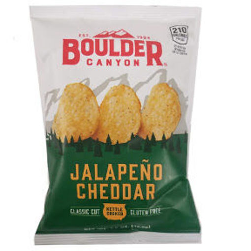Picture of Boulder Canyon Potato Chips - Jalapeno Cheddar (22 Units)