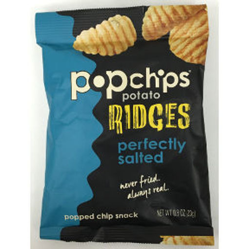 Picture of Popchips Perfectly Salted Ridges (23 Units)