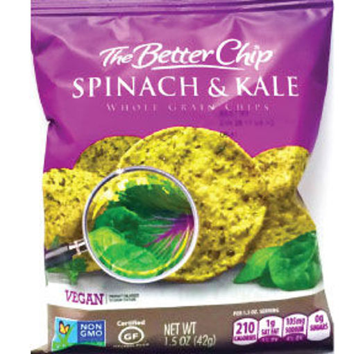 Picture of The Better Chip Spinach & Kale Whole Grain (20 Units)