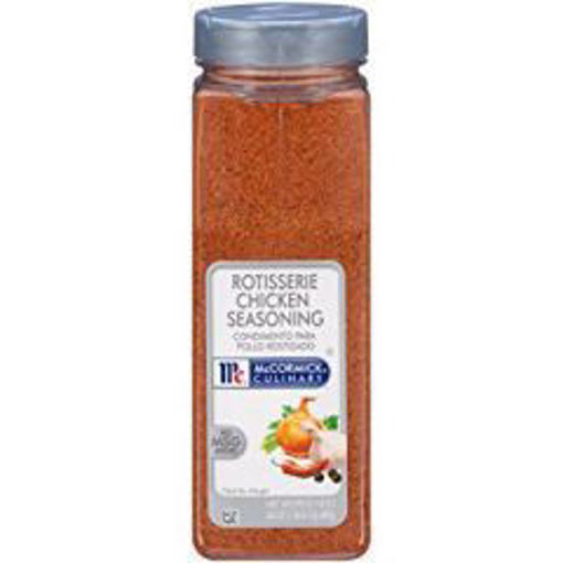 Picture of McCormick - Rotisserie Chicken Seasoning - 24 oz 6/case