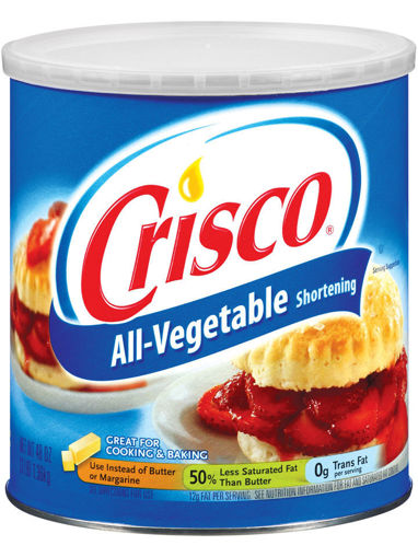 Picture of Crisco - Shortening - 6 lbs 6/case