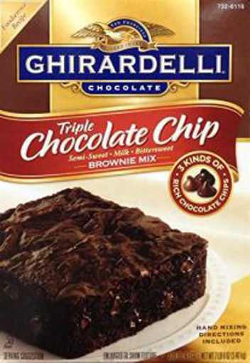Picture of Ghirardelli - Brownie Mix - 7 lbs 4/case