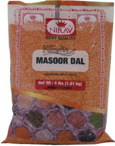 Picture of Nirav - Masoor Dal - 4lb Bag 6/case